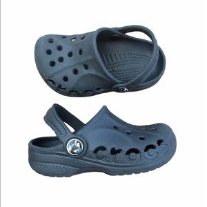 Crocs black clogs